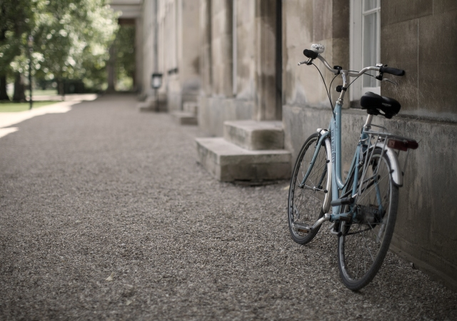 Downing College bicycle