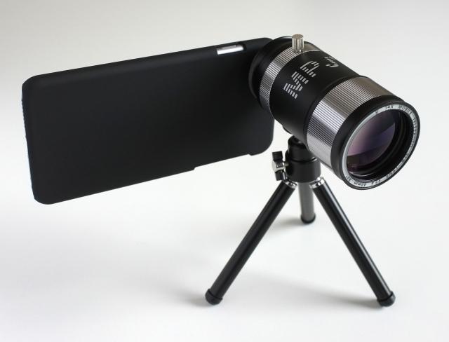 lens-mounted